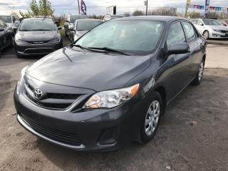 Used 2012 Toyota Corolla CE for sale in Gloucester, ON
