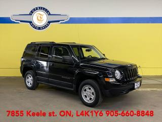 Used 2011 Jeep Patriot 4X4 2 Years Warranty for sale in Vaughan, ON