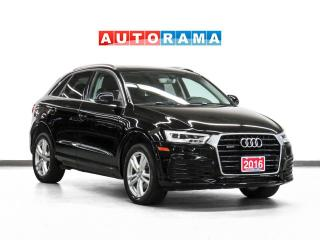 Used 2016 Audi Q3 S-Line Prestige Quattro Nav Leather Pano Bcam for sale in Toronto, ON
