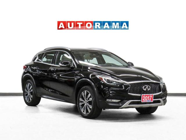 2017 Infiniti QX30 AWD Premium Tech PKg Nav Leather Pano 360 Cam