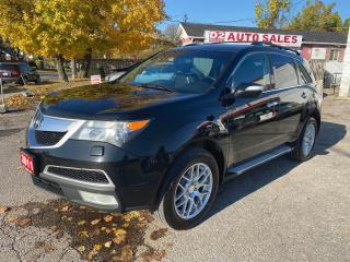 Used 2011 Acura MDX Tech Pkg/Accident Free/7 Passenger/DVD/Navi/Camera for sale in Scarborough, ON