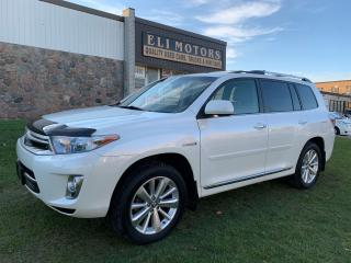 Used 2013 Toyota Highlander Hybrid LIMITED AWD NAVI REAR VIEW CAM 7 PASSENGER for sale in North York, ON