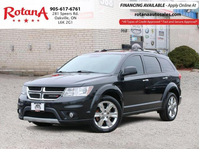 2013 Dodge Journey R/T w/Navi/Rear Cam/DVD/7 Passengers/BT