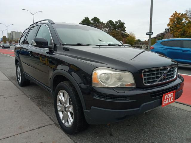 2007 Volvo XC90 EXTRA CLEAN-7 SEATS-LEATHER-SUNROOF-2 DVD-ALLOYS
