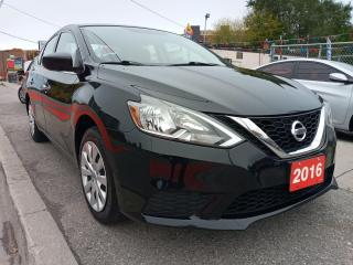 Used 2016 Nissan Sentra EXTRA CLEAN-ONLY 104K-ECO-BLUETOOTH-AUX-USB for sale in Scarborough, ON