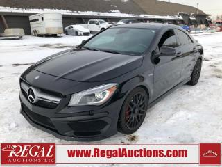 Used 2014 Mercedes-Benz CLA-Class CLA45AMG 4D COUPE 4MATIC AWD 2.0L for sale in Calgary, AB