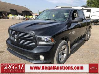 Used 2017 RAM 1500 Sport Crew Cab SWB 4WD 5.7L for sale in Calgary, AB