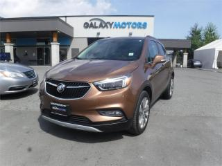 Used 2017 Buick Encore ESSENCE-AWD, LEATHER, SUNROOF for sale in Victoria, BC