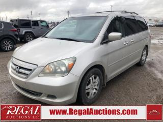 Used 2006 Honda Odyssey EX-L 4D Wagon FWD for sale in Calgary, AB