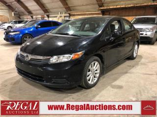 Used 2012 Honda Civic EX 4D Sedan for sale in Calgary, AB