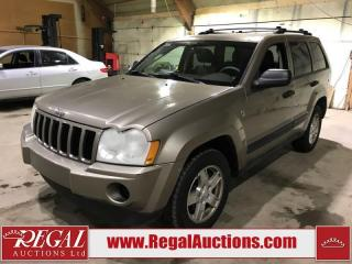 Used 2006 Jeep Grand Cherokee 4D Utility 4WD for sale in Calgary, AB