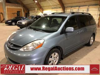 Used 2007 Toyota Sienna LE 4D WAGON for sale in Calgary, AB