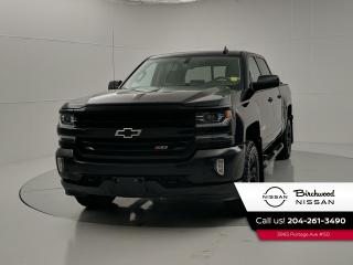 Used 2018 Chevrolet Silverado 1500 LTZ Midnight Edition, Navigation, Leather for sale in Winnipeg, MB