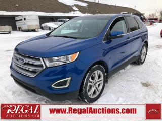 Used 2018 Ford Edge Titanium 4D Utility AWD 2.0L for sale in Calgary, AB