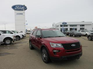 Used 2019 Ford Explorer SPORT for sale in Lacombe, AB