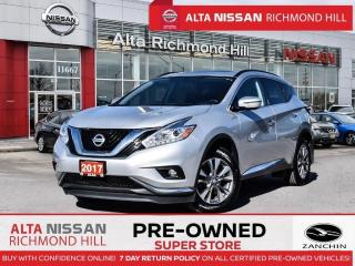 Used 2017 Nissan Murano SV AWD   Remote Start   Power Liftgate   Moonroof for sale in Richmond Hill, ON