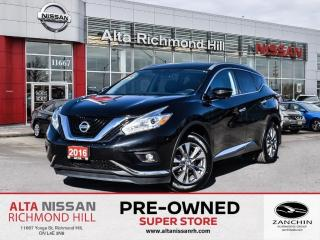 Used 2016 Nissan Murano SL AWD   360 CAM   Leather   Bose   Moonroof   BSW for sale in Richmond Hill, ON