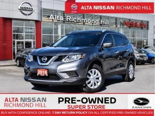Used 2016 Nissan Rogue S AWD   Back-UP CAM   Bluetooth   Cruise Control for sale in Richmond Hill, ON