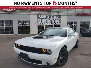 Used 2017 Dodge Challenger RT Shaker, Alcantara Seats, Navigation. for sale in Niagara Falls, ON