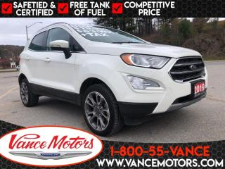Used 2019 Ford EcoSport Titanium 4x4...LEATHER*NAV*SUNROOF! for sale in Bancroft, ON
