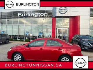 Used 2010 Toyota Corolla CE, ACCIDENT FREE, ONLY 79,000 KM'S, HEATED SEATS for sale in Burlington, ON