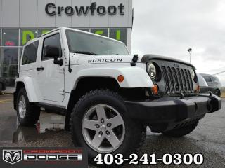 Used 2012 Jeep Wrangler RUBICON MANUAL 4X4 for sale in Calgary, AB