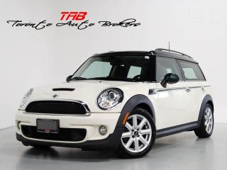 Used 2013 MINI Cooper Clubman S I 6-SPEED I PANO I LEATHER I LOCAL VEHICLE for sale in Vaughan, ON