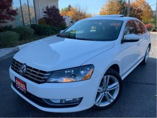 Used 2013 Volkswagen Passat Comfortline TDI  LEATHER SUNROOF for sale in Concord, ON