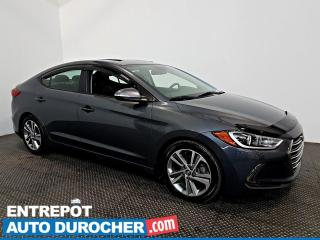 Used 2018 Hyundai Elantra GLS TOIT OUVRANT - Automatique - A/C - CUIR for sale in Laval, QC