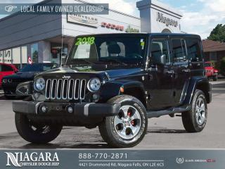 Used 2018 Jeep Wrangler JK UNLIMITED SAHARA | NAVIGATION for sale in Niagara Falls, ON