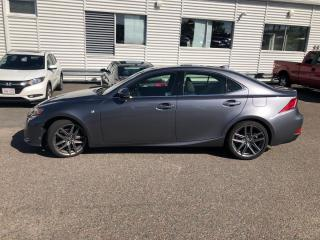 Used 2015 Lexus IS 250 F-SPORT 2  LEATHER  NAVI  BLIS  HTD SEATS  BACKUP for sale in Ottawa, ON