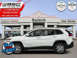 Used 2016 Jeep Cherokee Limited - Leather Seats -  Bluetooth for sale in Selkirk, MB