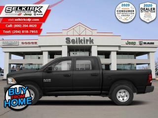 Used 2019 RAM 1500 Classic ST - Uconnect 3 - Trailer Hitch for sale in Selkirk, MB