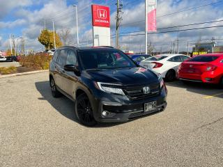 Used 2019 Honda Pilot Black Edition for sale in Waterloo, ON