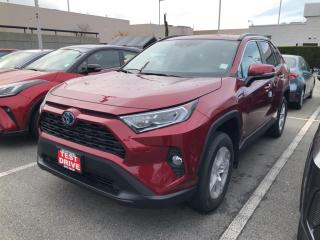 New 2021 Toyota RAV4 Hybrid XLE for sale in North Vancouver, BC