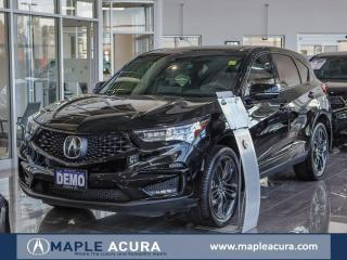 Used 2020 Acura RDX A-Spec, Manager Demo Special for sale in Maple, ON