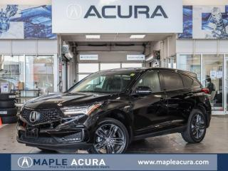 New 2020 Acura RDX A-Spec, Manager Demo Special for sale in Maple, ON