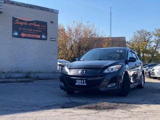 Used 2011 Mazda MAZDA3 GT Leather/Sunroof/heated seats for sale in Barrie, ON