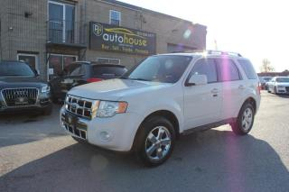 Used 2012 Ford Escape 4WD/LIMITED/LEATHER for sale in Newmarket, ON