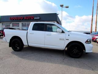 Used 2014 RAM 1500 Sport Crew Cab 4WD 5.7L Hemi Camera Certified for sale in Milton, ON