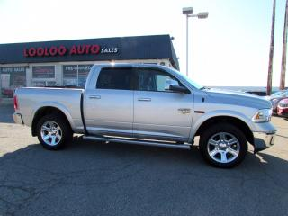 Used 2015 RAM 1500 Laramie Longhorn Crew Cab 4WD Diesel Navi Camera for sale in Milton, ON