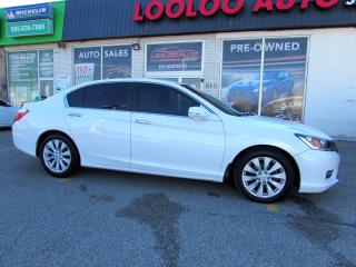 Used 2014 Honda Accord EX-L SEDAN V4 2.4L AUTO SUNROOF LEATHER CERTIFIED for sale in Milton, ON