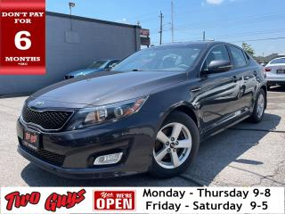 Used 2015 Kia Optima LX | Bluetooth | Htd Seats | Low KMS | Pwr Seat | for sale in St Catharines, ON