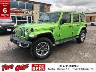 Used 2020 Jeep Wrangler Unlimited Unlimited Sahara | Auto | Cold Weather Group | for sale in St Catharines, ON