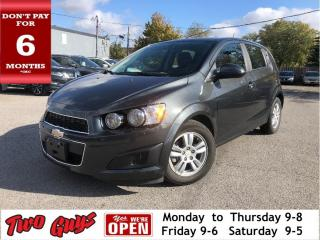 Used 2016 Chevrolet Sonic Back Up Camera Heated Front Seats Remote Start for sale in St Catharines, ON