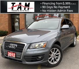 Used 2012 Audi Q5 2.0 quattro Premium NAVI Back-Up Camera Parking Sensors Bluetooth Leather Heated Seats for sale in North York, ON