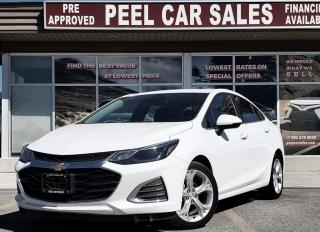 Used 2019 Chevrolet Cruze PREMIER|PRICEMATCHPOLICY|CLEANCARFAX|PRE-CERTIFIED| for sale in Mississauga, ON