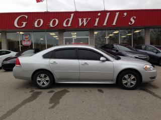 Used 2013 Chevrolet Impala LS! CLEAN CARPROOF! for sale in Aylmer, ON