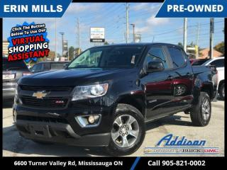 Used 2020 Chevrolet Colorado 4WD Z71  Z71 SLIDING REAR WINDOW|HEATED SEATS|LOW KM| for sale in Mississauga, ON