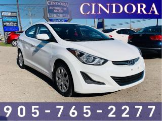 Used 2014 Hyundai Elantra GL, auto, heated seats, bluetooth for sale in Caledonia, ON